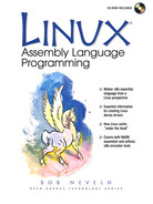 Cover of Linux Assembly Language Programming