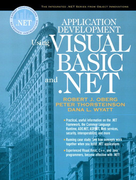 Application Development Using Visual Basic® and .NET