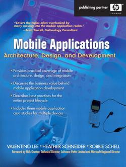 Mobile Applications: Architecture, Design, and Development