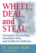 Book cover for Wheel, Deal, and Steal: Deceptive Accounting, Deceitful CEOs, and Ineffective Reforms