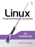 Cover of Linux® Programming by Example