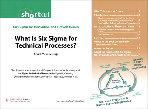 What Is Six Sigma for Technical Processes?