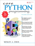 Cover of Core Python Programming, Second Edition