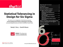 Statistical Tolerancing in Design for Six Sigma
