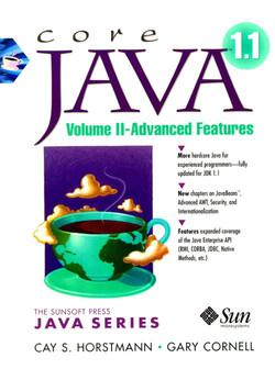Core Java™ 1.1 Volume II - Advanced Features