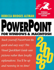 PowerPoint 2000/98: Visual QuickStart Guide