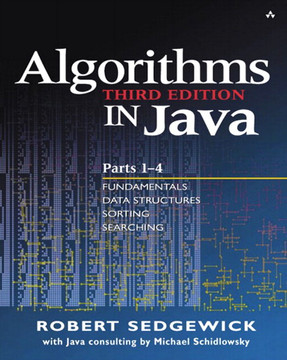 Algorithms in Java, Third Edition, Parts 1-4