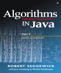 Algorithms in Java, Part 5: Graph Algorithms, Third Edition