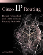 Cover of Cisco IP Routing: Packet Forwarding and Intra-domain Routing Protocols