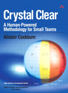 Cover of Crystal Clear A Human-Powered Methodology for Small Teams