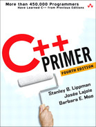 Cover of C++ Primer, Fourth Edition