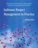Cover of Software Project Management in Practice