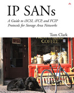 Cover of IP SANs: A Guide to iSCSI, iFCP, and FCIP Protocols for Storage Area Networks