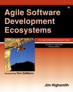 Cover of Agile Software Development Ecosystems
