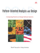 Cover of Pattern-Oriented Analysis and Design: Composing Patterns to Design Software Systems