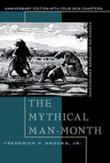 Cover of Mythical Man-Month, The: Essays on Software Engineering, Anniversary Edition