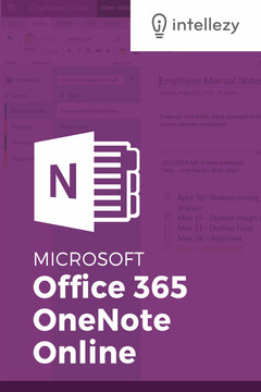 Office 365 OneNote Online
