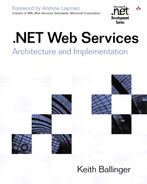 Cover of .NET Web Services: Architecture and Implementation