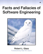 Cover of Facts and Fallacies of Software Engineering