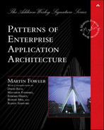 Cover of Patterns of Enterprise Application Architecture