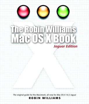 Robin Williams Mac OS X Book, Jaguar Edition, The