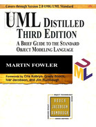 Cover of UML Distilled: A Brief Guide to the Standard Object Modeling Language, Third Edition