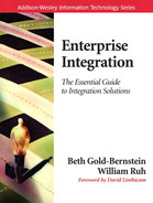 Cover of Enterprise Integration: The Essential Guide to Integration Solutions