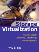 Cover of Storage Virtualization: Technologies for Simplifying Data Storage and Management