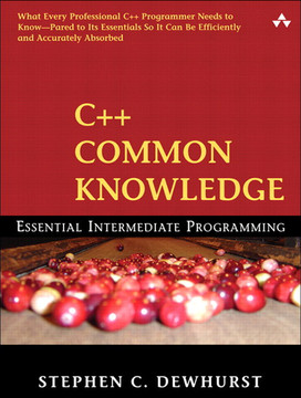 C common knowledge essential intermediate programming book c common knowledge essential intermediate programming pronofoot35fo Image collections