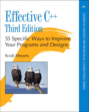Effective C++: 55 Specific Ways to Improve Your Programs and Designs, Third Edition