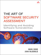 Cover of The Art of Software Security Assessment: Identifying and Preventing Software Vulnerabilities