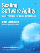 Cover of Scaling Software Agility: Best Practices for Large Enterprises