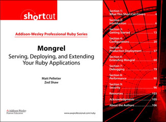 Mongrel: Serving, Deploying, and Extending Your Ruby Applications