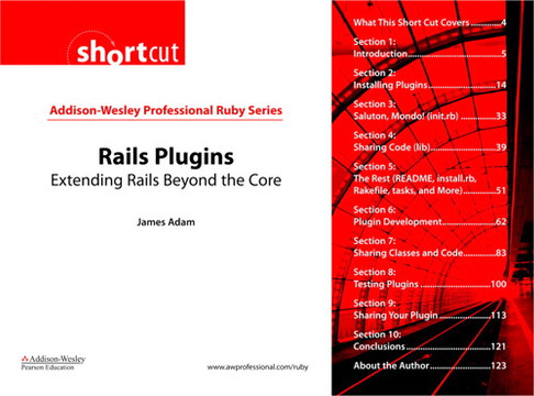 Rails Plugins: Extending Rails Beyond the Core