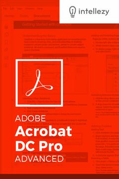 Adobe Acrobat DC Pro Advanced [Video]