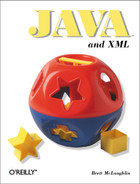 Cover image for Java and XML