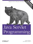 Cover of Java Servlet Programming, 2nd Edition