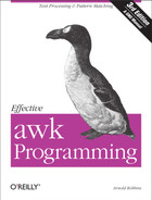 Cover image for Effective awk Programming, 3rd Edition