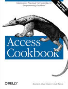 Cover of Access Cookbook