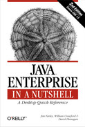 Cover image for Java Enterprise in a Nutshell, Second Edition