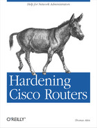 Cover of Hardening Cisco Routers