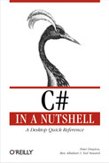 Cover image for C# in a Nutshell