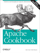 Cover image for Apache Cookbook