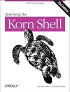 Cover image for Learning the Korn Shell, 2nd Edition