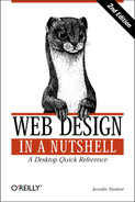 Web Design in a Nutshell, 2nd Edition