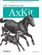 Cover image for XML Publishing with AxKit