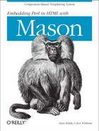 Cover image for Embedding Perl in HTML with Mason