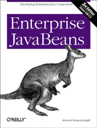 Cover image for Enterprise JavaBeans, Third Edition