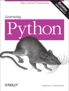 Cover image for Learning Python, 2nd Edition