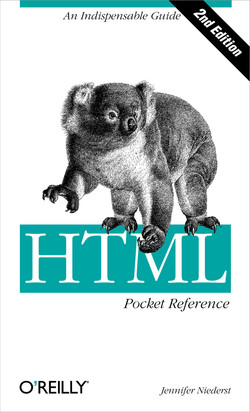 HTML Pocket Reference, Second Edition